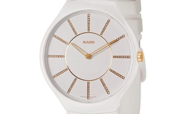 (收購)(買賣)RADO 男用石英手錶 TRUE THINLINE 系列R27957709 #05318