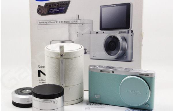 Samsung NX MINI 綠 9mm 9-27mm 雙鏡組 公司貨 中古相機 #07150