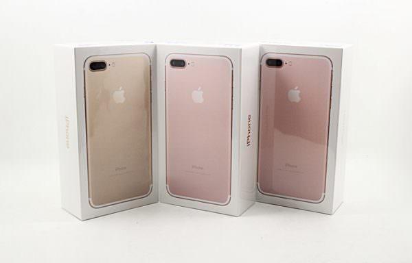 全新未拆iPhone 7 plus 128gb 空機價 #07672