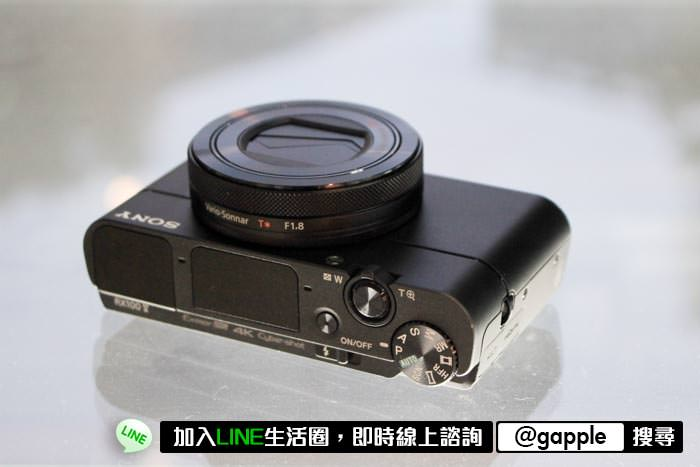 RX100是這幾年來我看過最經典的相機之一