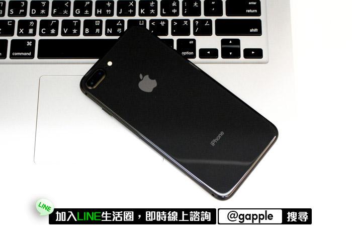 二手iphone8手機背蓋是否有撞傷或是嚴重擦傷