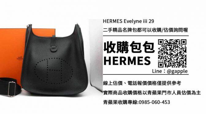 收購HERMES EVELYNE III 29